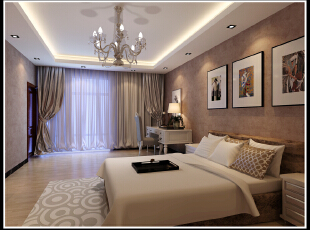 现代 卧室 装修,2500平,110万,现代,公装,