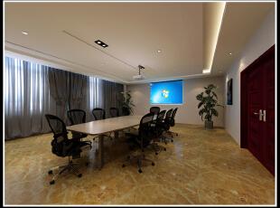 小会议室 现代 装修,2500平,110万,现代,公装,