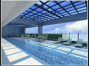 阳光花园 现代 装修,2500平,110万,现代,公装,