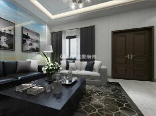 台式简约—简单的客厅陈列,360平,100万,简约,别墅,客厅,