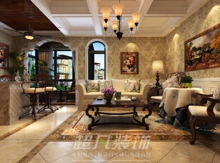 家具配置上,家具漆面具有半封闭漆的效果,不仅能将木皮的纹理尽情展示,在徒手触摸时,还能感受到油漆饰面后的光滑,平整。,90平,12万,混搭,两居,客厅,