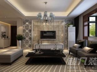 陈设部分则加强艺术氛围的营造。,130平,14万,现代,三居,客厅,玄关,