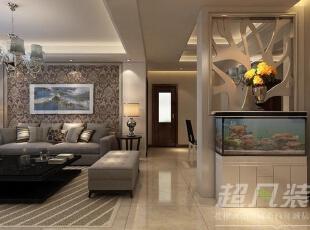 柔和的灯光,处处萦绕着浓郁的家居氛围,并在每个细节之处把空间的故事娓娓道来。,130平,14万,现代,三居,客厅,