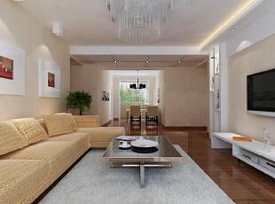 本案设计中,设计师以现代生活方式为原则,并吸取空间曲径通幽的手法,对平面布局做了很好的调整。客厅设计中,简洁的客厅电视背景墙与沙发背景墙相互映衬,整合了整个空间的构图,开敞的书房增加了空间的灵活性,厨房的操作台又给予了主人更多的生活操作空间,主卫生间双盆设计让房间的主人共同洗刷,增进空间的感**彩,同时也解决了早起争抢洗刷空间的问题。 在装饰设计和软装配饰上更倾向于现代感极强的简约方式,包括家具上的配饰,沙发和桌椅基本都是前卫的,用简约的语言在诠释整个空间。,155平,11万,现代,四居,客厅,餐厅,