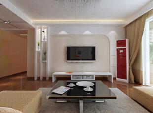 本案设计中,设计师以现代生活方式为原则,并吸取空间曲径通幽的手法,对平面布局做了很好的调整。客厅设计中,简洁的客厅电视背景墙与沙发背景墙相互映衬,整合了整个空间的构图,开敞的书房增加了空间的灵活性,厨房的操作台又给予了主人更多的生活操作空间,主卫生间双盆设计让房间的主人共同洗刷,增进空间的感**彩,同时也解决了早起争抢洗刷空间的问题。 在装饰设计和软装配饰上更倾向于现代感极强的简约方式,包括家具上的配饰,沙发和桌椅基本都是前卫的,用简约的语言在诠释整个空间。,155平,11万,现代,四居,客厅,黄色,