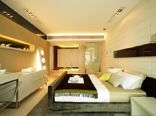 主人卧室 温馨、舒适的主卧室 \