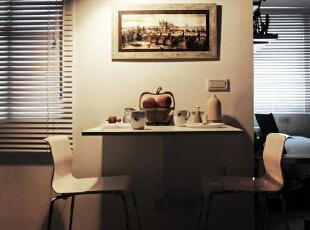 偶而能够来场烛光晚餐,享受两人世界的温馨浪漫。,70平,6万,简约,两居,餐厅,白色,