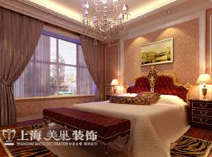 雅居乐国际花园4室2厅样板间装修效果图:卧室,135平,8万,现代,一居,卧室,黄色,红色,