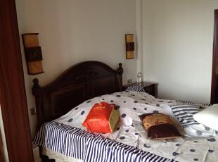 ,120平,18万,混搭,三居,卧室,白色,原木色,