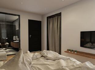 ,120平,35万,现代,两居,卧室,白色,