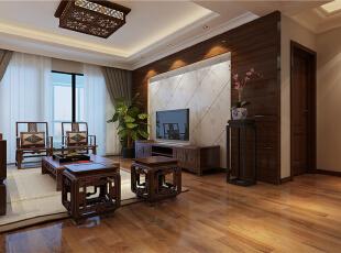 ,120平,20万,中式,四居,客厅,