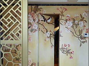 为您创造一个温馨,健康的家庭环境,,让您回味古典雅致的中式韵味,为您打造精致,优雅,古典壮观的风格,135平,11万,中式,三居,玄关,