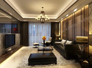 ,100平,8万,小资,三居,新古典,现代,白色,黑白,客厅,