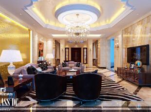 理石地面添加房屋整体亮度,360平,40万,新古典,别墅,别墅装修,餐厅,