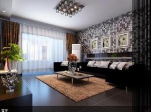 ,153平,6万,现代,四居,客厅,白色,黑白,黄色,粉色,绿色,