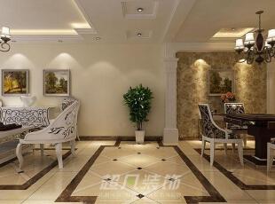 洁云里260平复式(负一层)欧式风格案例赏析—负一层休闲厅,260平,26万,欧式,复式,