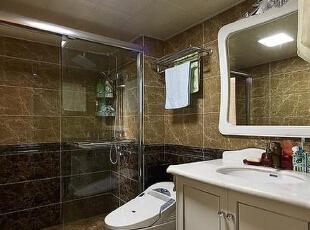 理想世界简欧装修两室两厅90平样板间案例——卫浴设施,90平,6万,欧式,两居,永恒理想世界装修,美巢装饰,装修装饰,装修优惠,装修团装,