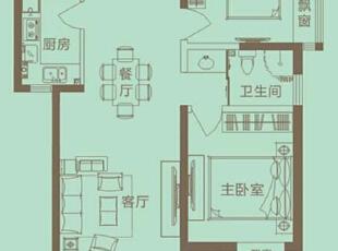 理想世界简欧装修两室两厅90平样板间案例户型平面图——美巢装饰,90平,6万,欧式,两居,永恒理想世界装修,美巢装饰,装修装饰,装修优惠,装修团装,