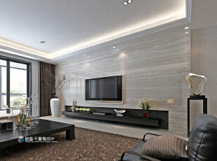 ,265平,22万,现代,大户型,客厅,黑白,