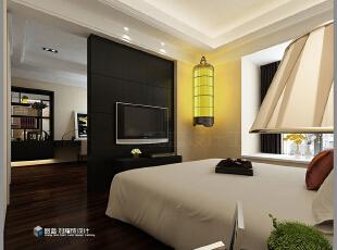 ,265平,48万,现代,大户型,卧室,黑白,