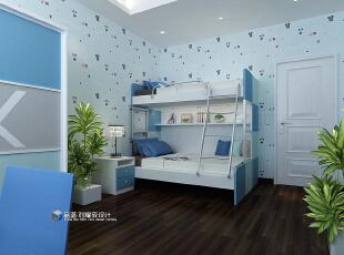 ,265平,48万,现代,大户型,儿童房,蓝色,