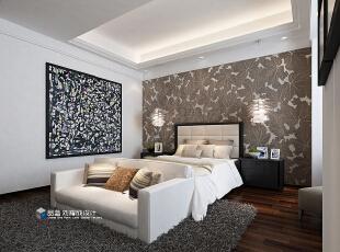 ,265平,48万,现代,大户型,卧室,白色,原木色,
