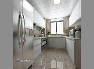 ,265平,48万,现代,大户型,厨房,白色,