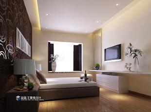 ,130平,9万,现代,四居,卧室,白色,原木色,