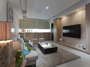 ,150平,50万,小户型,现代,客厅,原名色,白色,