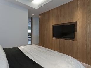 ,150平,50万,小户型,现代,卧室,原木色,白色,