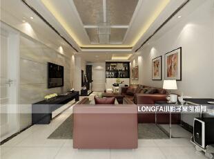 ,99平,4万,现代,两居,客厅,黑白,红色,