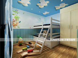 ,99平,4万,现代,两居,卧室,绿色,蓝色,白色,原木色,儿童房,