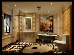 男孩卫生间,480平,42万,新古典,别墅,卫生间,儿童房,玄关,