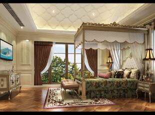 女孩房间,480平,42万,新古典,别墅,儿童房,