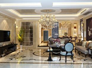 客厅,450平,38万,新古典,别墅,客厅,