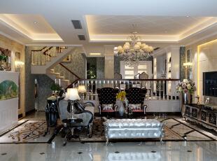客厅,350平,42万,新古典,别墅,客厅,