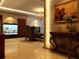 八里庄北里97平欧式三居-门厅 简约风格的家具与造型以及配饰相得益彰,形成了统一、整体的家居氛围,达到了客户预想的效果。,97平,9万,欧式,三居,玄关,现代,简约,白色,原木色,红色,黄色,