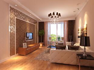 曙光花园95平简欧大两居-客厅 奢华时尚的设计元素,合理的功能分区一直是业主所喜爱的生活方式。清新淡雅中不乏一种追求个性、现代、时尚的感觉。,95平,8万,欧式,两居,现代,简约,客厅,白色,原木色,粉色,