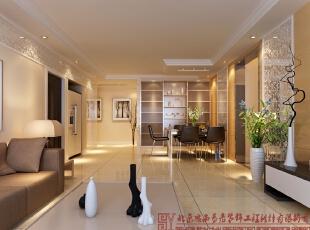 客餐厅,130平,5万,现代,三居,