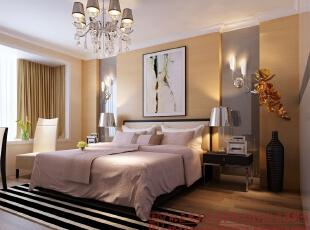 卧室,130平,5万,现代,三居,