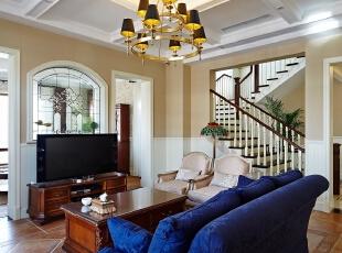 ,360平,120万,现代,一居,客厅,白色,黄色,
