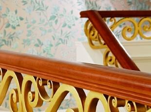 ,500平,200万,田园,别墅,楼梯,白色,
