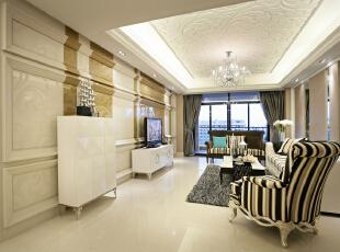 设 计 风 华、装 点 都 市。,150平,30万,现代,三居,黄色,小资,客厅,