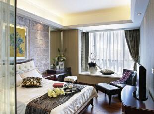 设 计 风 华、装 点 都 市。,150平,30万,现代,三居,卧室,小资,黄色,