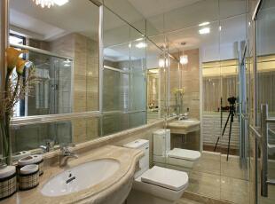 设 计 风 华、装 点 都 市。,150平,30万,现代,三居,卫生间,黄色,小资,