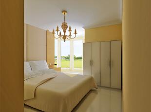 ,120平,10万,欧式,三居,卧室,黄色,