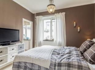 ,43平,5万,现代,一居,卧室,黄色,