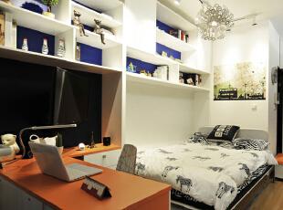 ,28平,3万,现代,一居,卧室,白色,