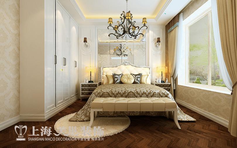 室2厅样板间装修效果图---主卧室欧式风格装修效果图