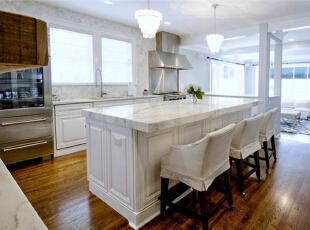 ,90平,9万,现代,两居,厨房,白色,